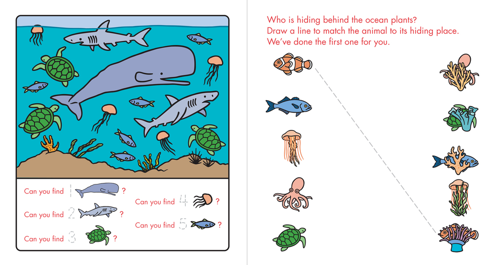 Let's Find Out: Ocean Life, Cartwheel Books / Scholastic