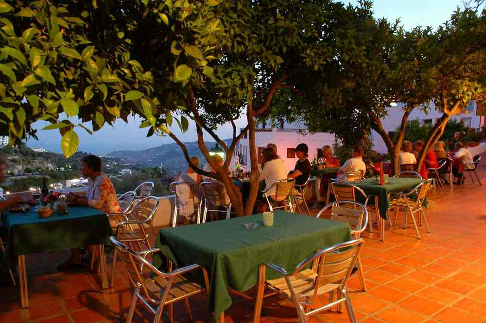 Lots of lovely bars and restaurants within easy reach of Villa Amapola.