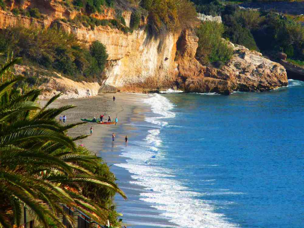 Nerja beach is just a half hour drive.
