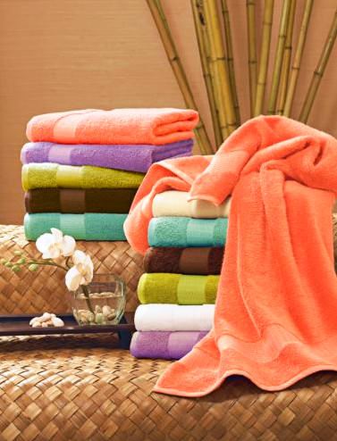 Fluffy Egyptian cotton towels at Villa Amapola