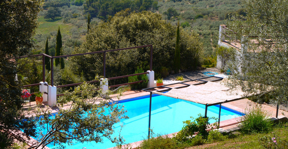 Stunning private swimming pool, totally private and secluded, at Villa Amapola