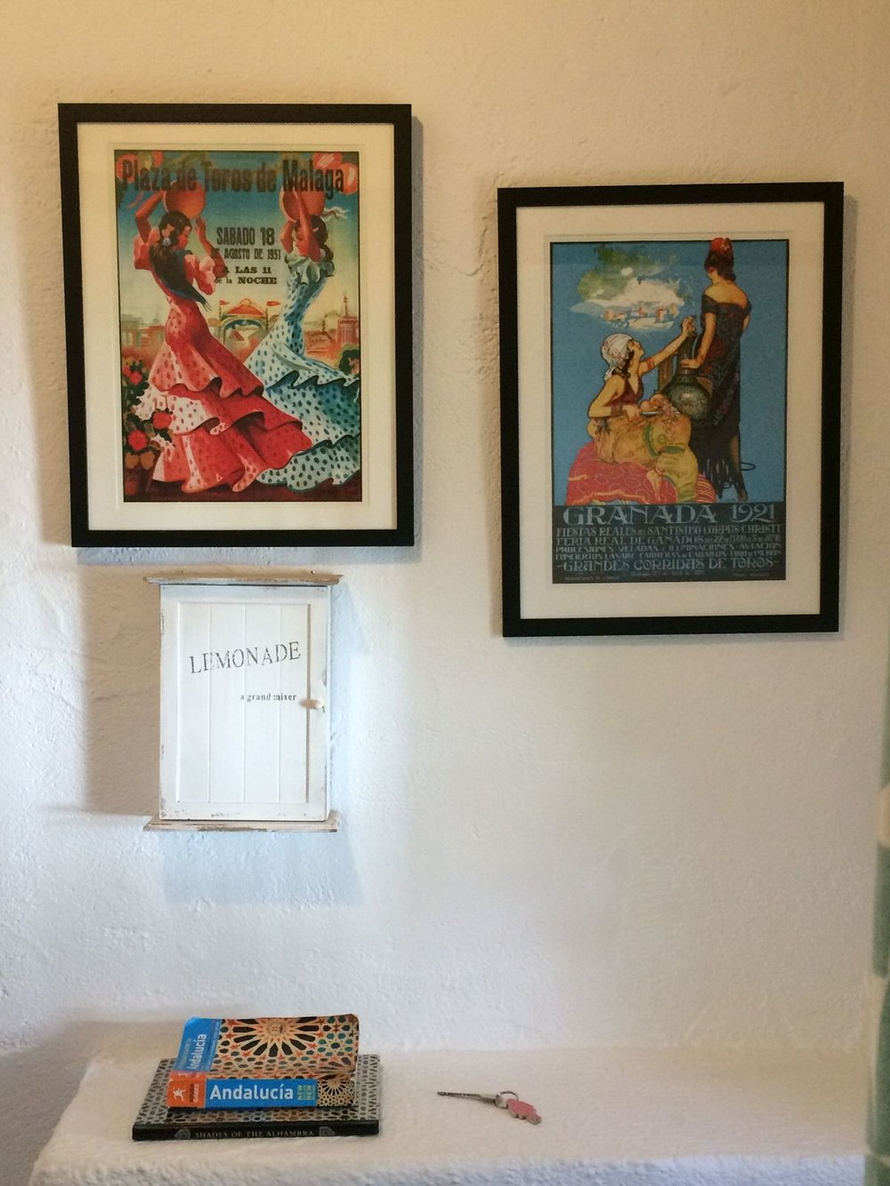 Welcome to Villa Amapola - Malaga and Granada fiesta posters