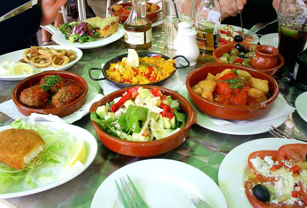 Delicious Andalucian tapas