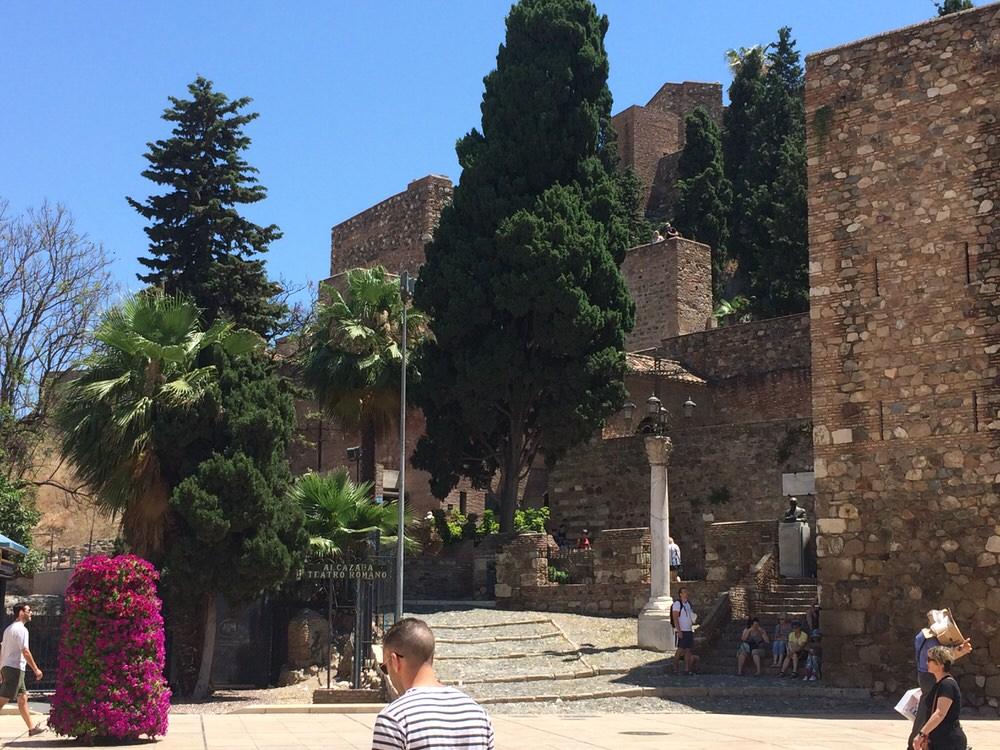 The Alcazaba, Malaga