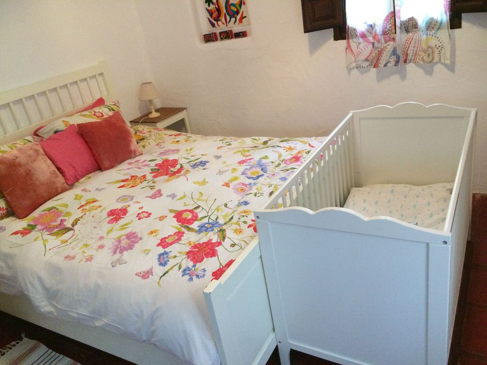 We provide cots for babies and toddlers