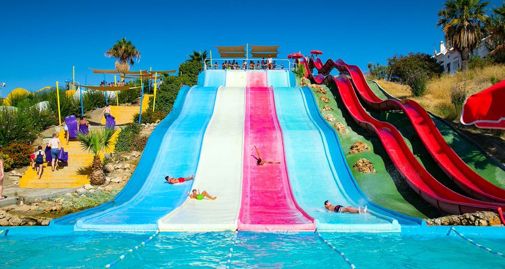 AqualVelis Water Park is only 20 minutes drive from the villa.