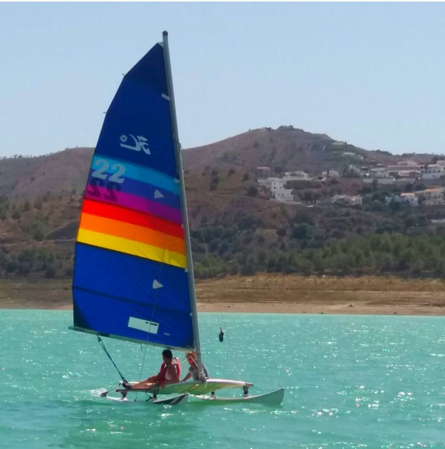 Kayaking, sailing, pedal boats, archery, 4x4 trail routes and multi activity days at Malaga-Outdoor.