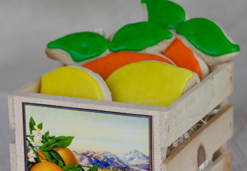 PARTY FAVORS:  Orange Clementine
