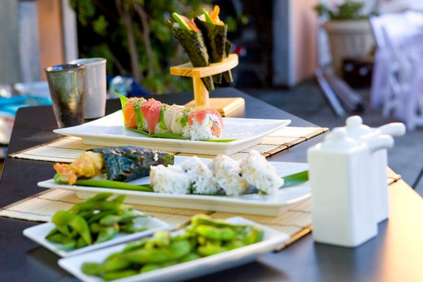 BEST SUSHI:  Akioni Sushi Catering