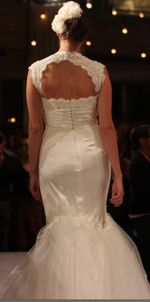 Gorgeous Back of a Luly Yang Dress
