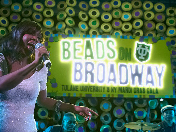 Beads on Broadway for Tulane University