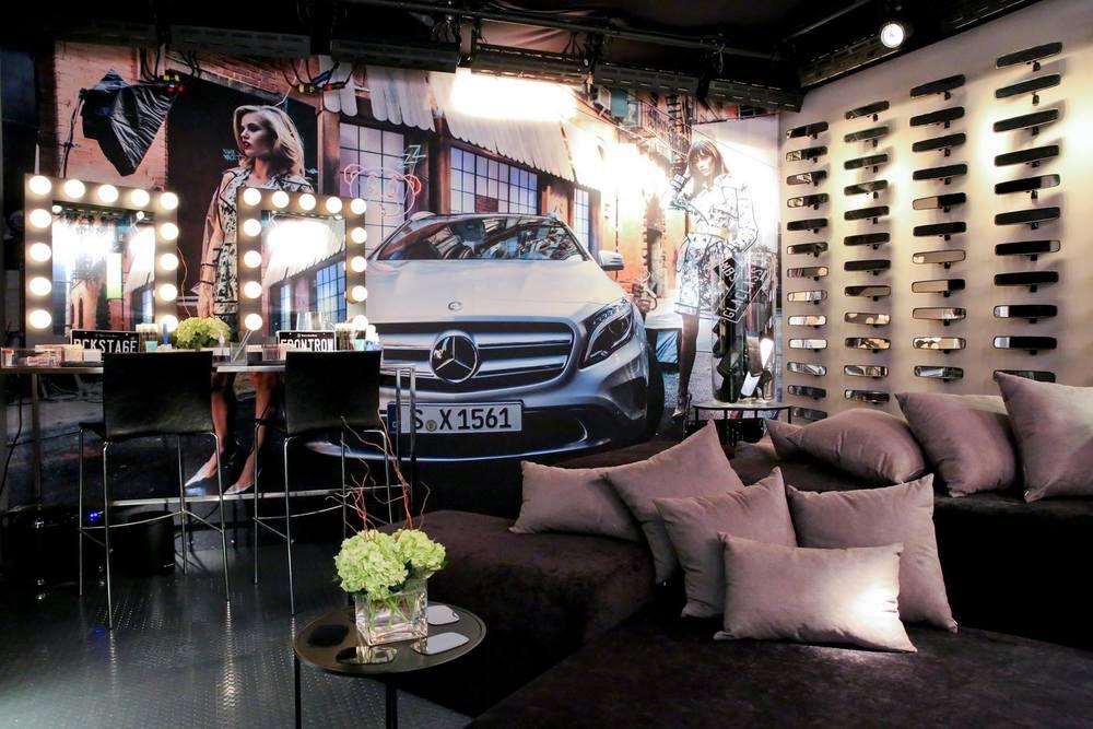 VIP Lounge at Mercedes Benz Fashion Week