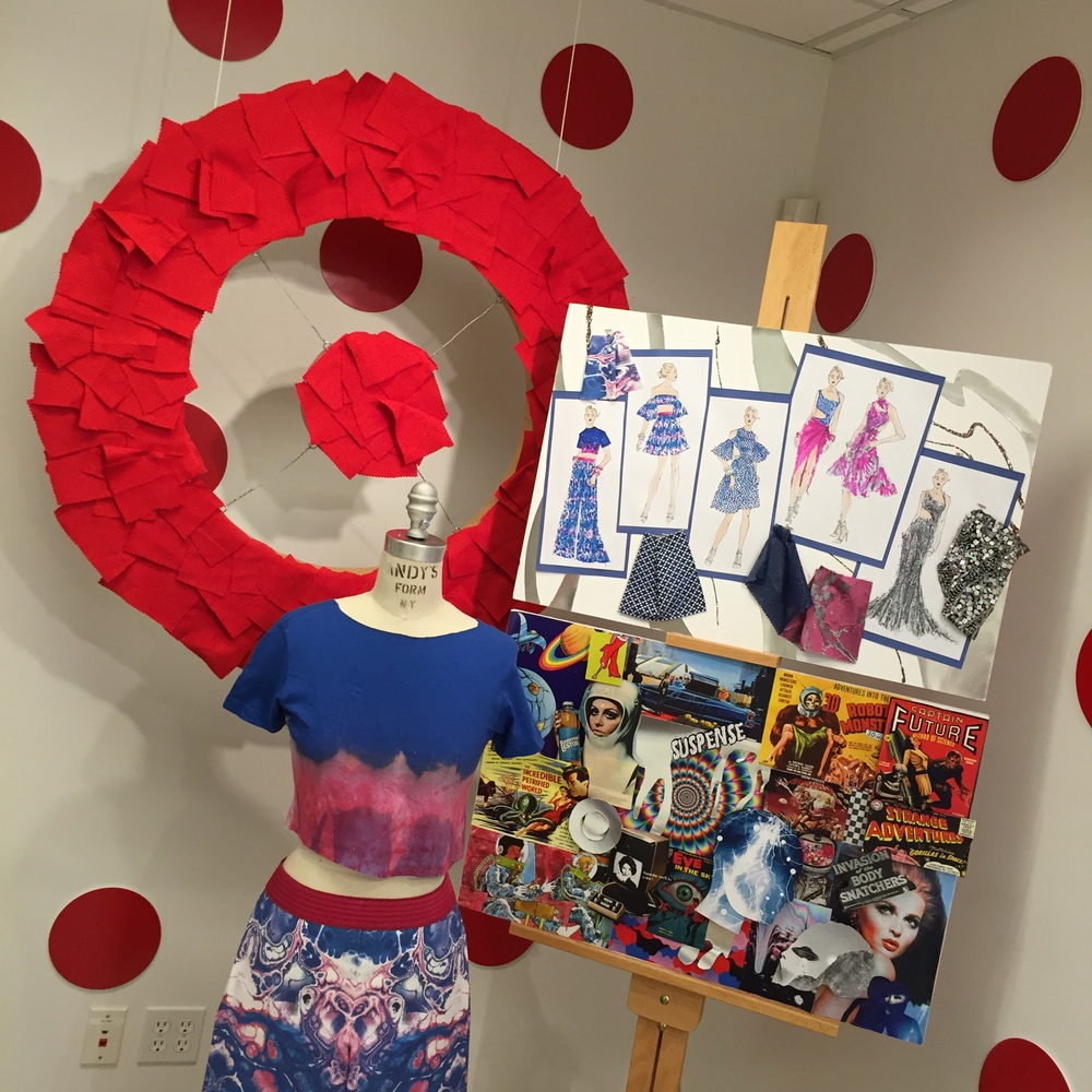 Rob Younkers' Stitched Fashion Camp sponsored by Target in East Hampton