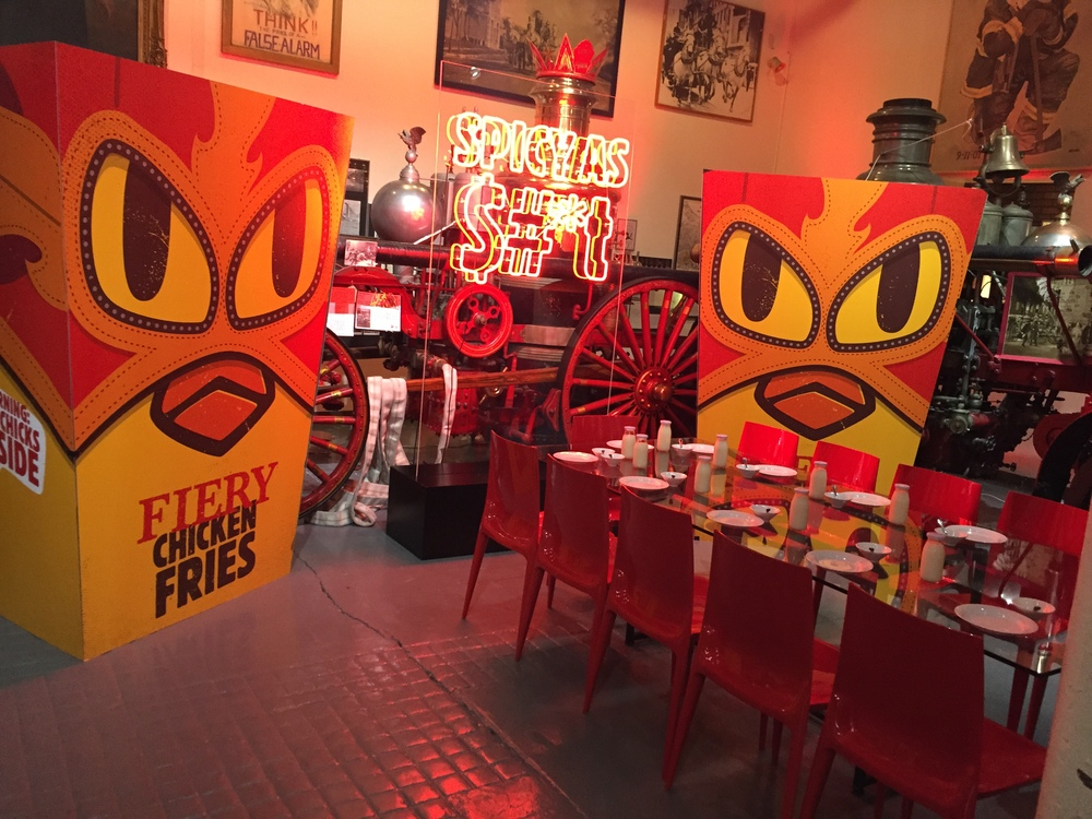 Fiery Chicken Fries Launch for Burger King