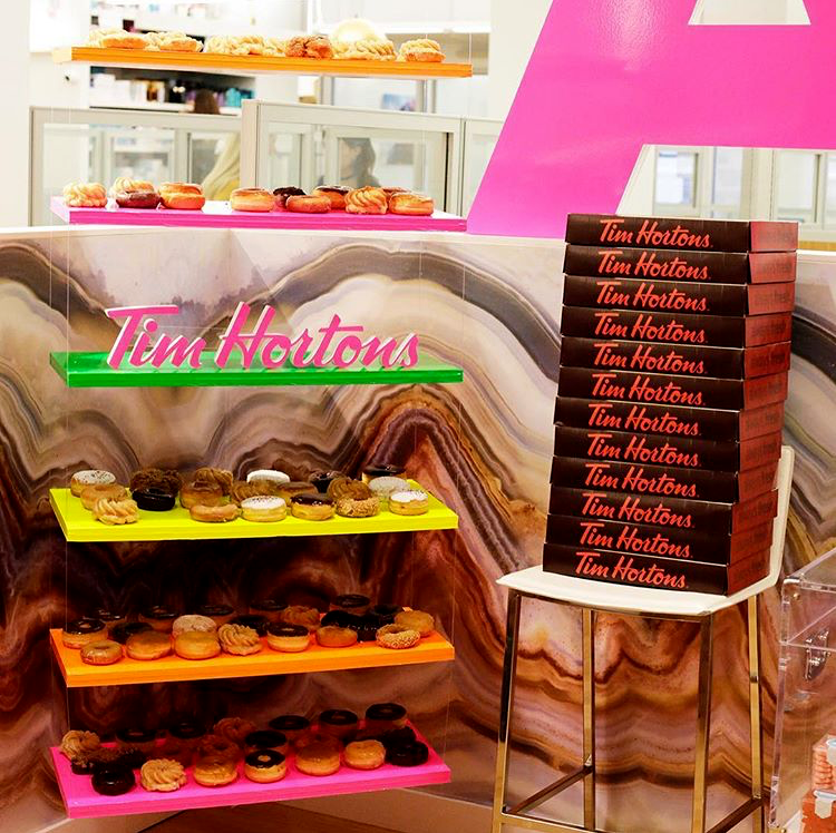 Tim Hortons Activation