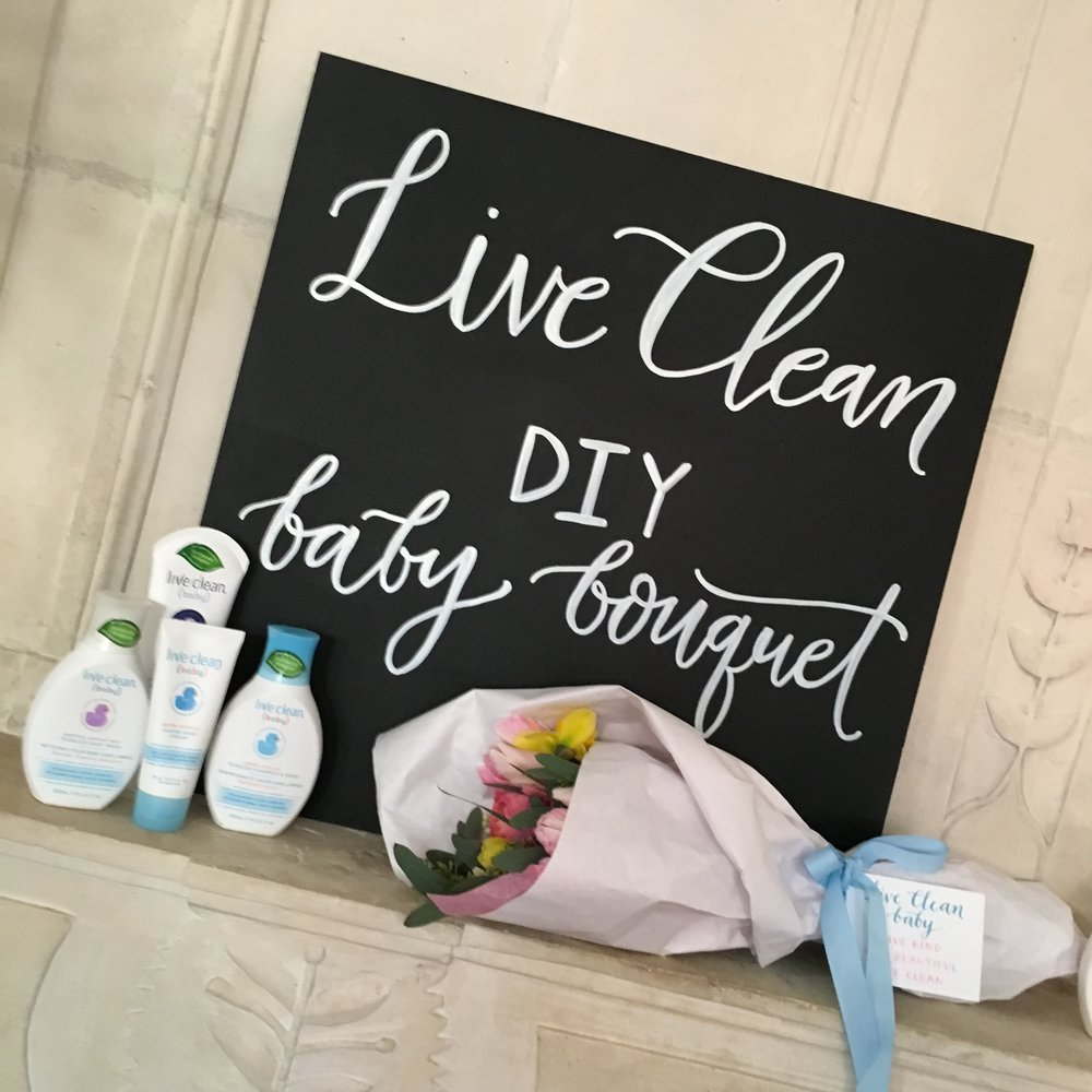 Live Clean Baby Launch