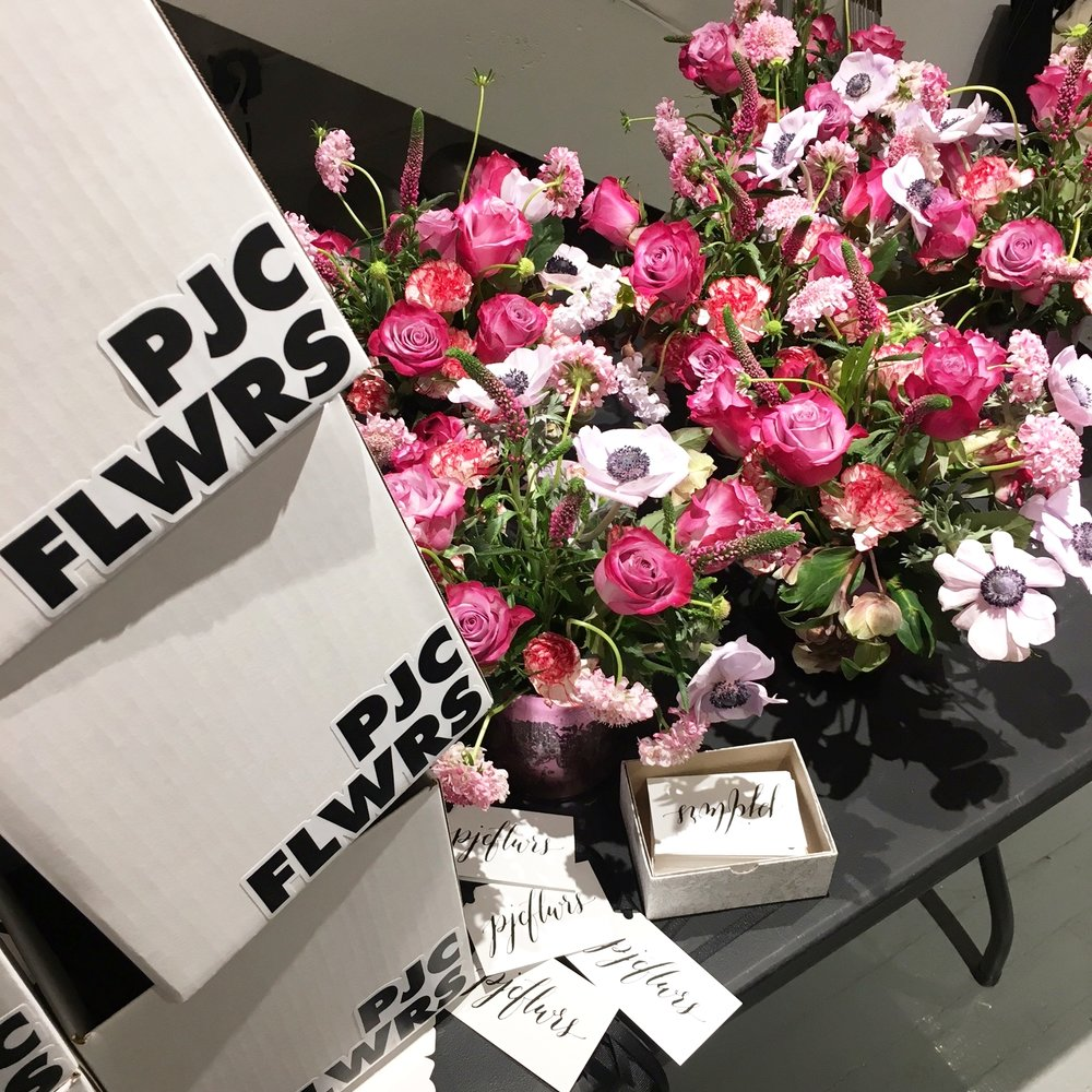 FLWR deliveries for Valentine's Day