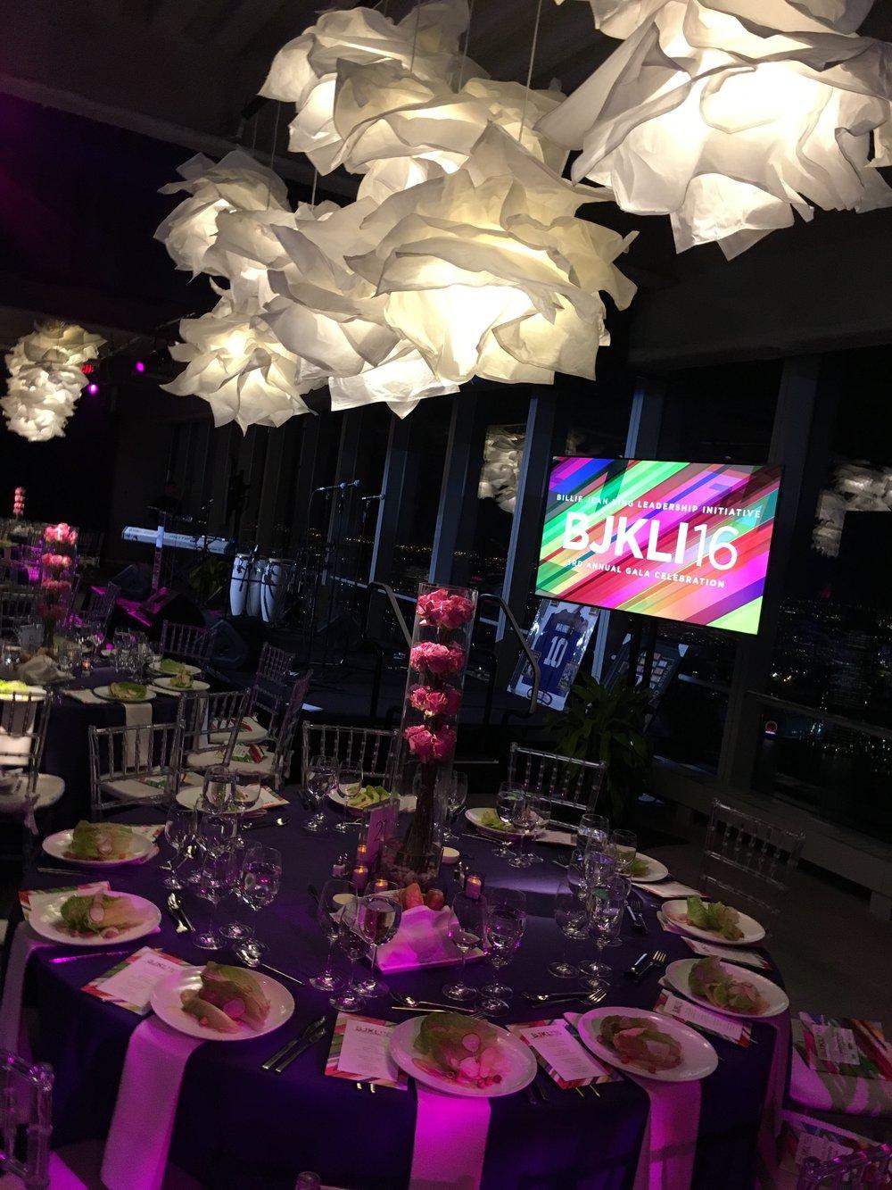 Billie Jean King Annual Gala at 4WTC