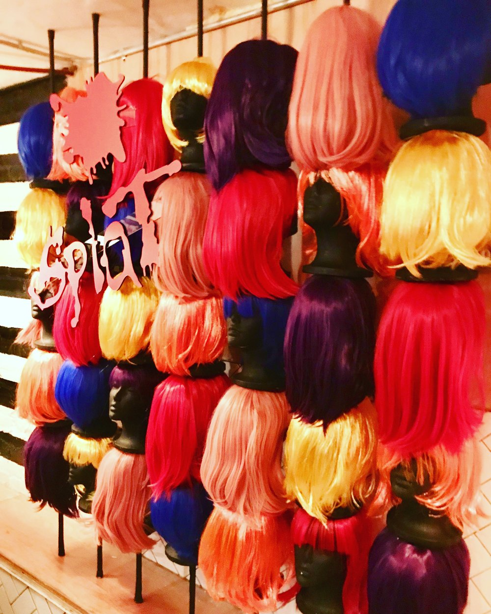 Splat Hair Color Press Event