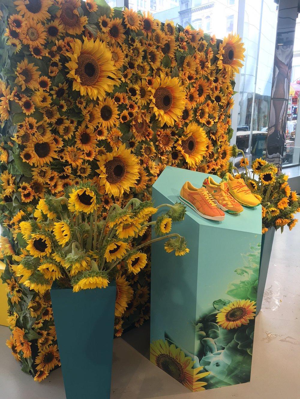 ASICS Sunflower Campaign - NYC & LA