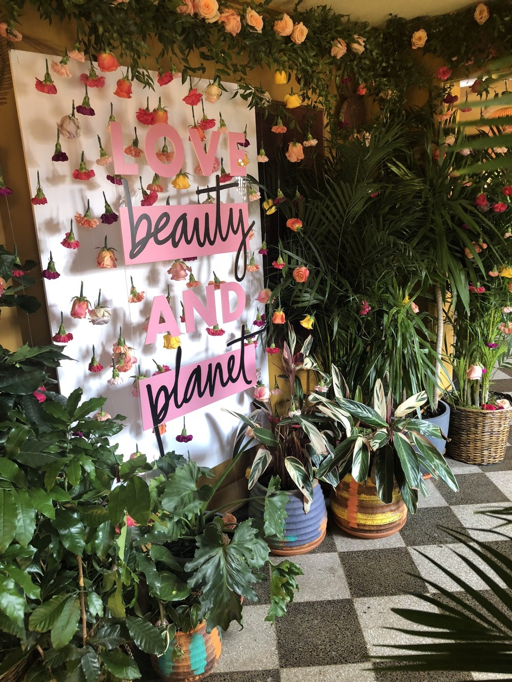 Love beauty and Planet Launch
