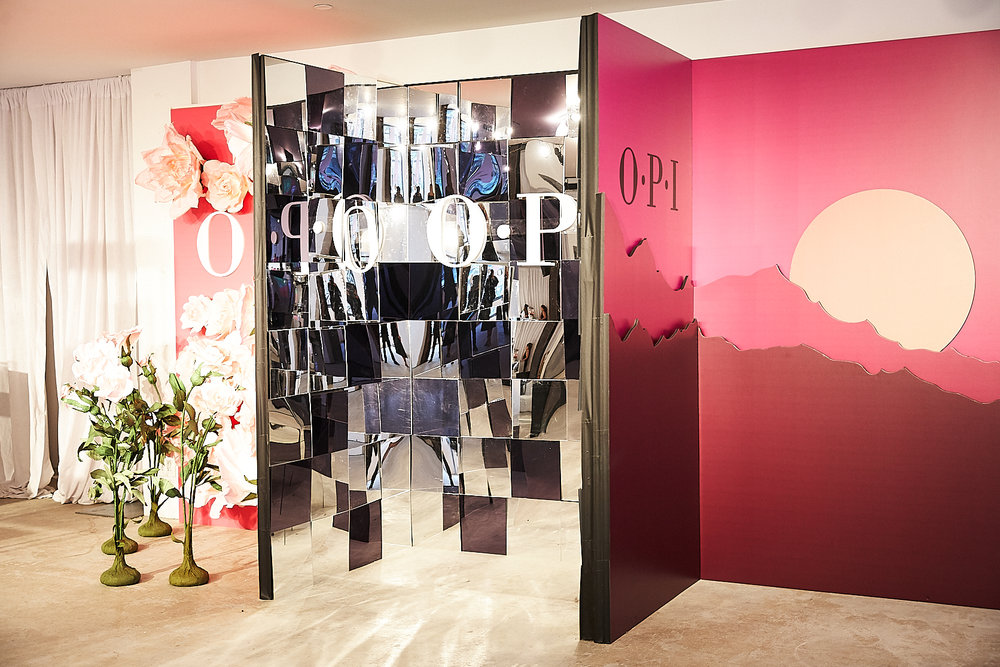 OPI Pop Up Shop. Photo: Brian Buolos