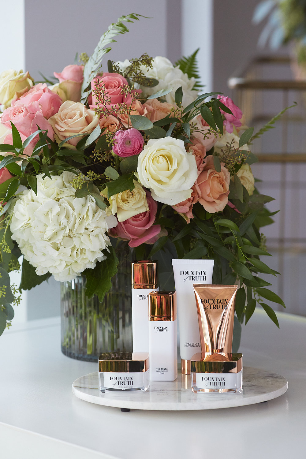 Giuliana Rancic's Fountain of Truth Beauty Launch in NYC