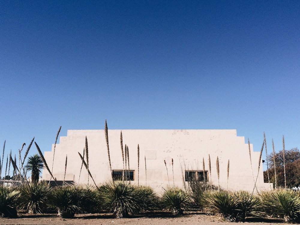 Chinati Foundation in Marfa, TX