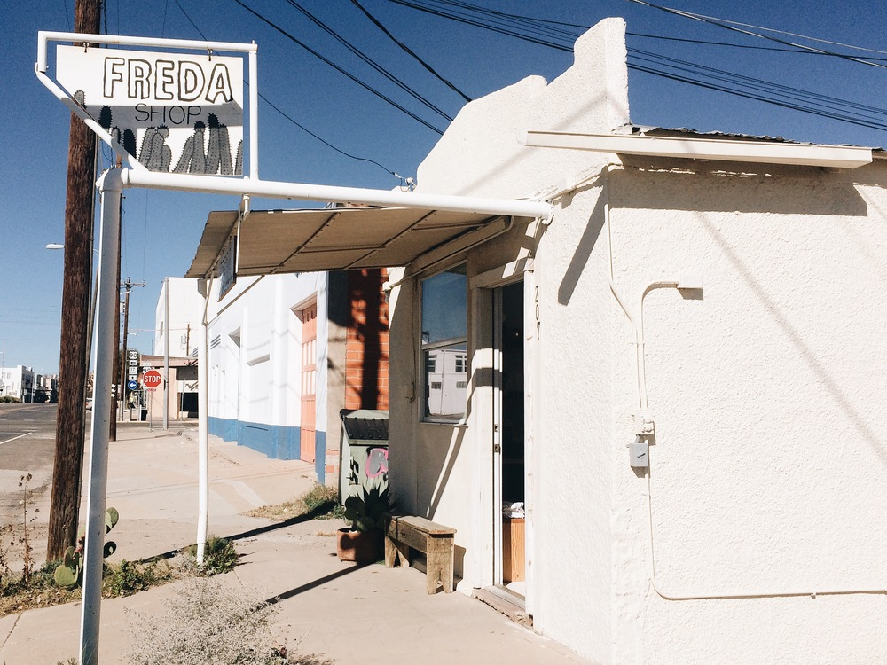 Freda Shop in Marfa, TX