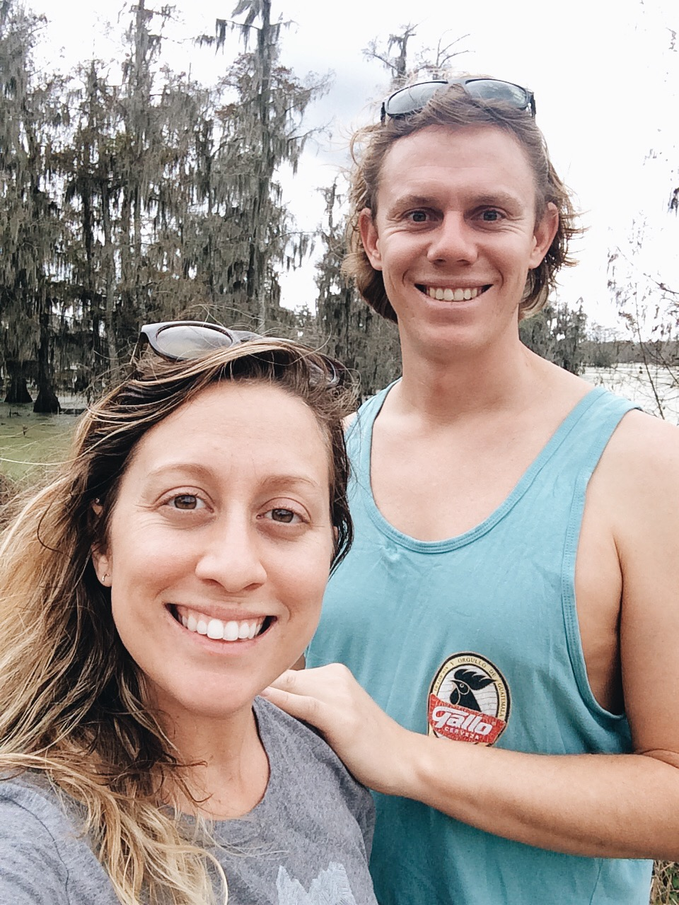 Smiles in the bayou