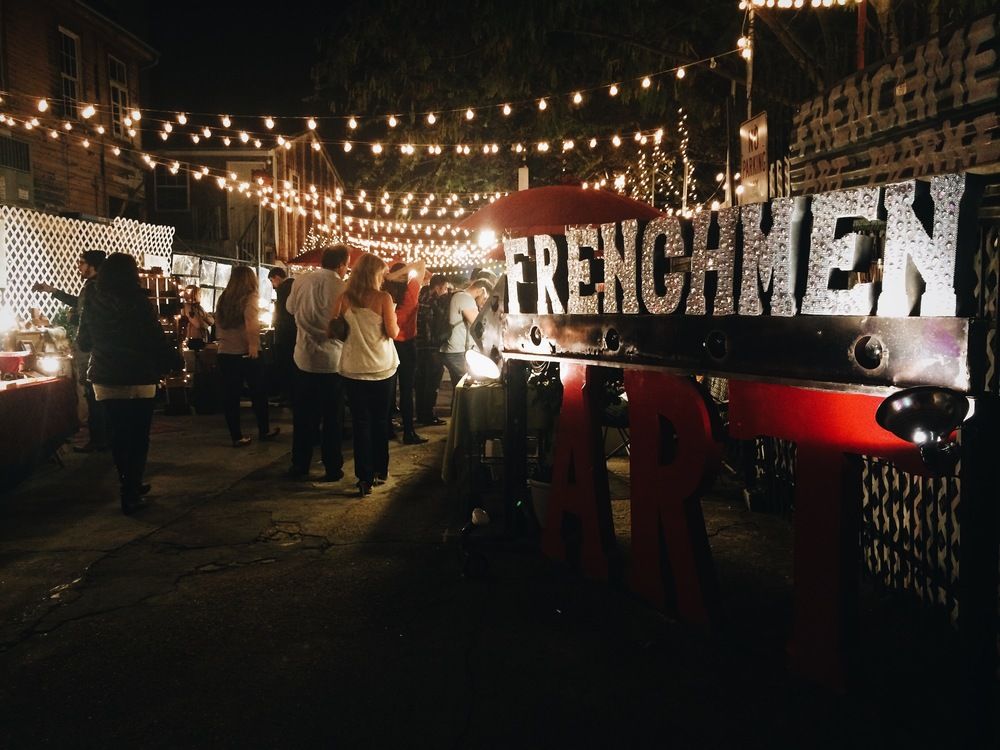 Frenchmen Street Art Fair in New Orleans, LA