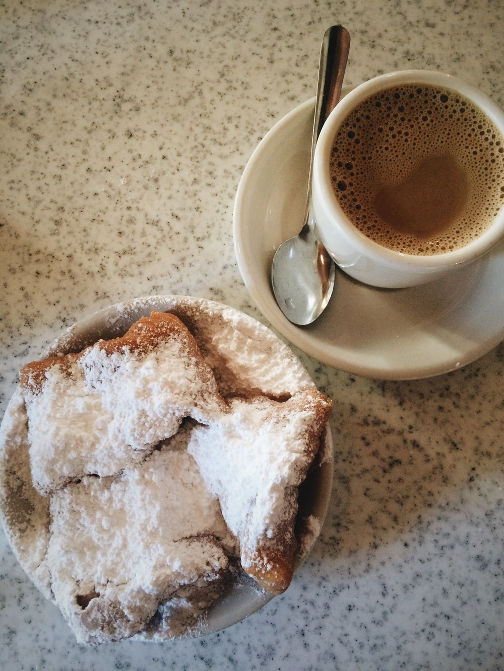 Beignets from Cafe Du Monde in New Orleans, LA