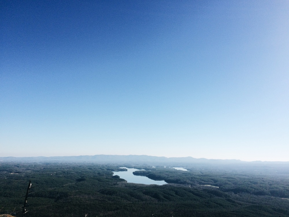 Lake James from Shortoff Trail, NC