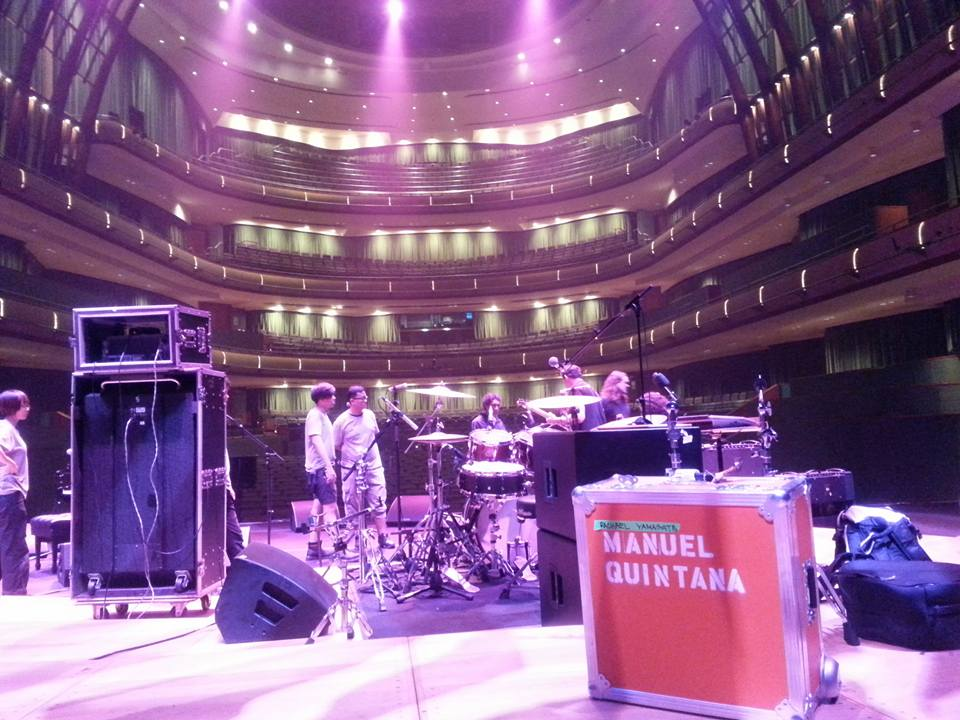 Esplanade Theater in Singapore with Rachael Yamagata