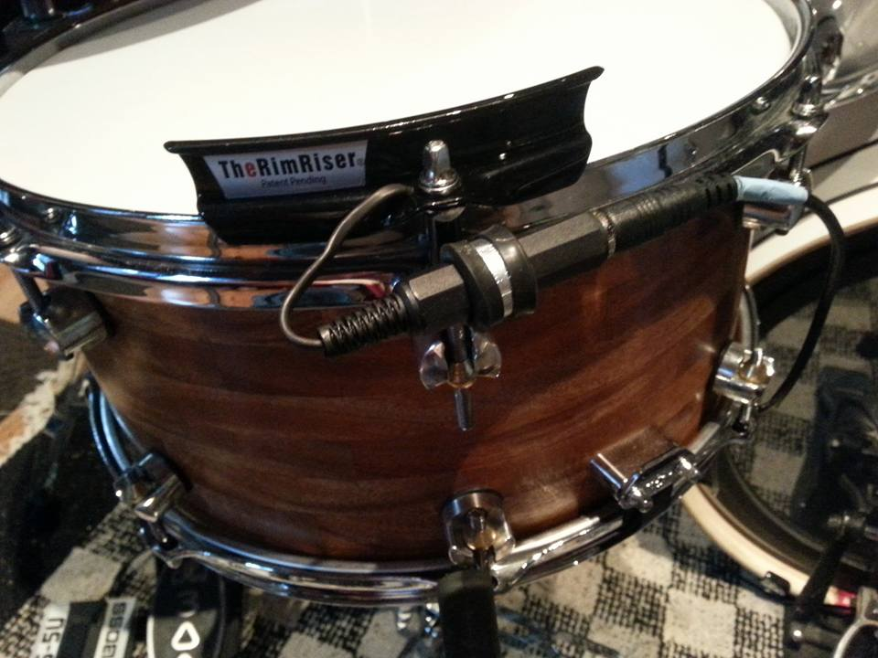 RimRiser trigger on one of my Rathkamp snares.