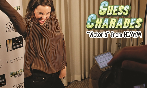 Play celebrity charades such as Ashley Williams from How I Met Your Mother!