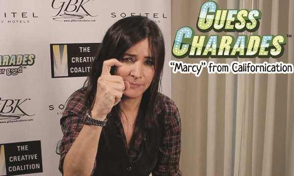 Pamela Adlon from Californication is waiting for you to play her charades!
