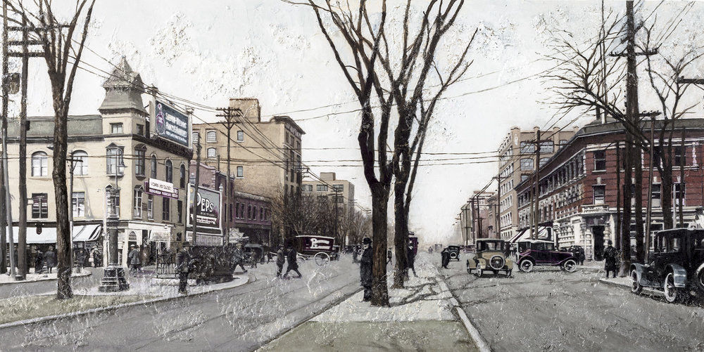 Queen and Spadina, 1924