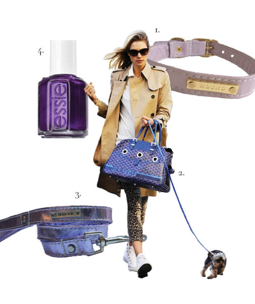 1.   Hound Collection    2.   Goyard    3.   Hound Collection    4.   Essie