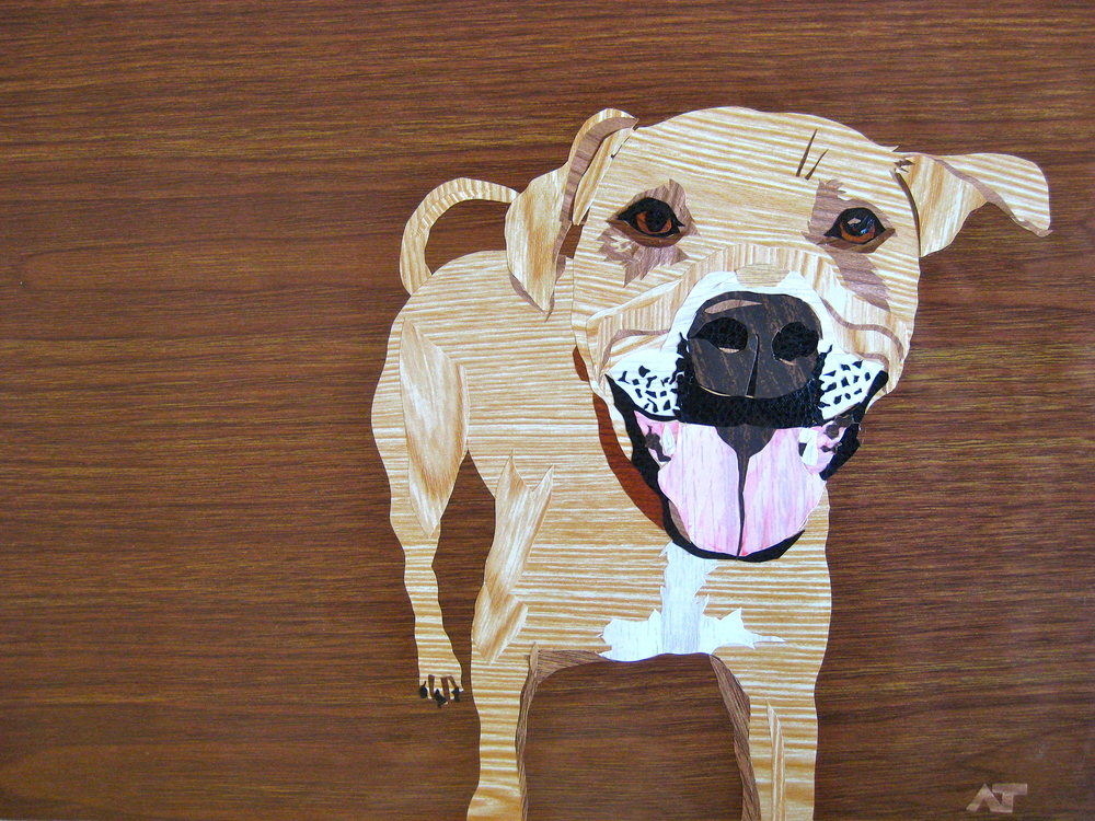 Amy Turner's dog art available on   Etsy