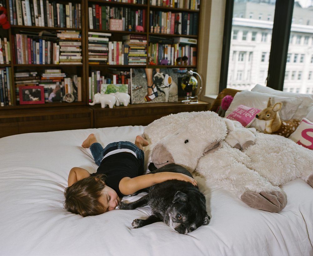 Shiloh and Bibi, New York City 2014