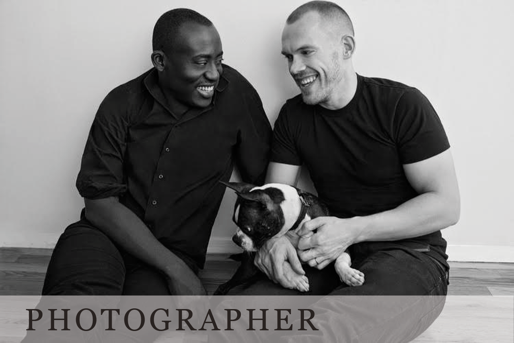 Edward Enninful and Alec Maxwell by Emma Summerton
