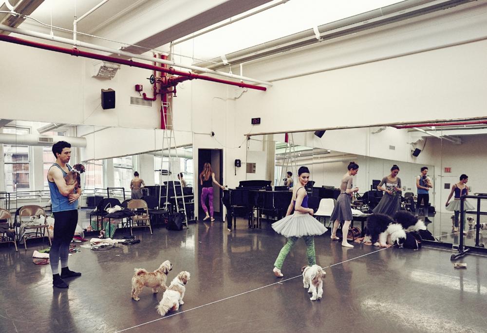 The studios at American Ballet Theatre