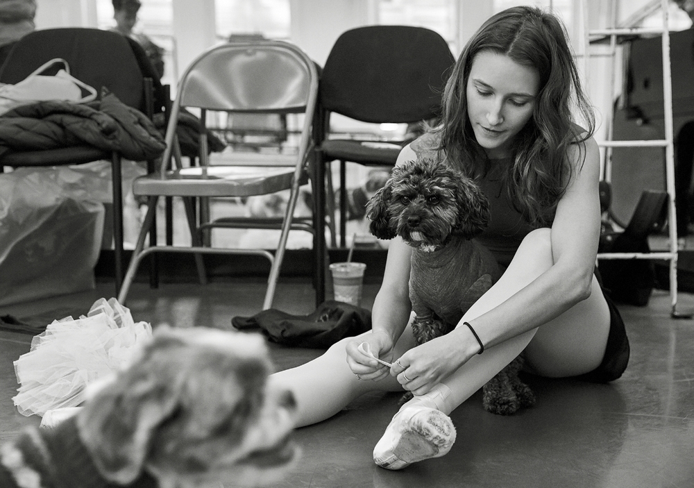 Devon and her dog Riley
