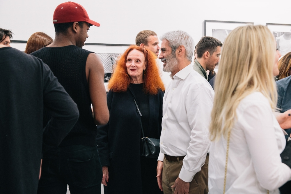 Jihad Harkeem, Grace Coddington and James Danziger.