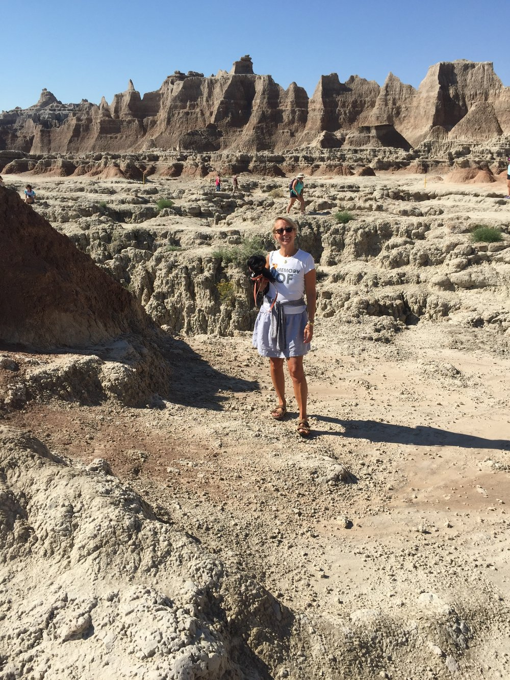 Mrs. Sizzle in the Badlands
