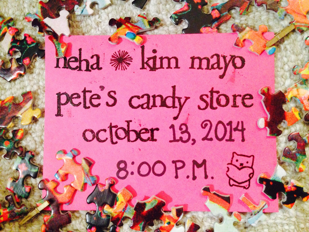 "Note the cute little bear on the bottom right corner. Also, the name ""Pete's Candy Store"" is slightly misleading. While there is a bar, there is no candy at this venue. Please come anyway."