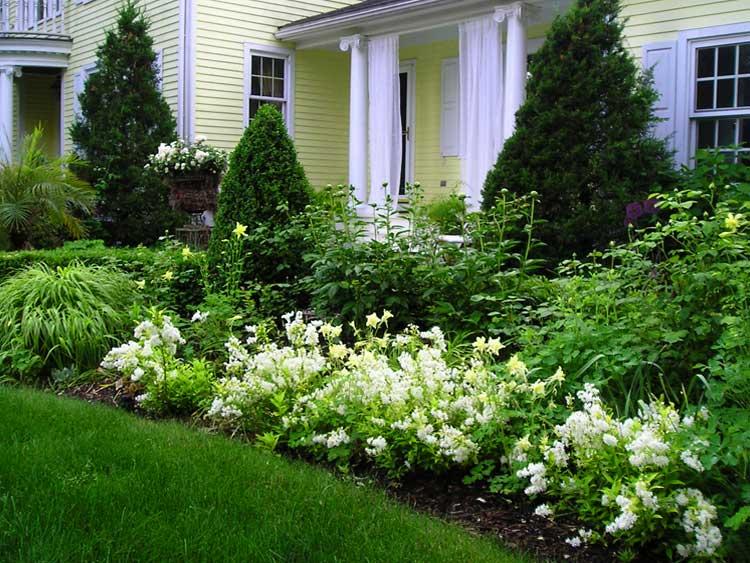 White Garden Landscaping : Garden installation maintenance — designs by kristen