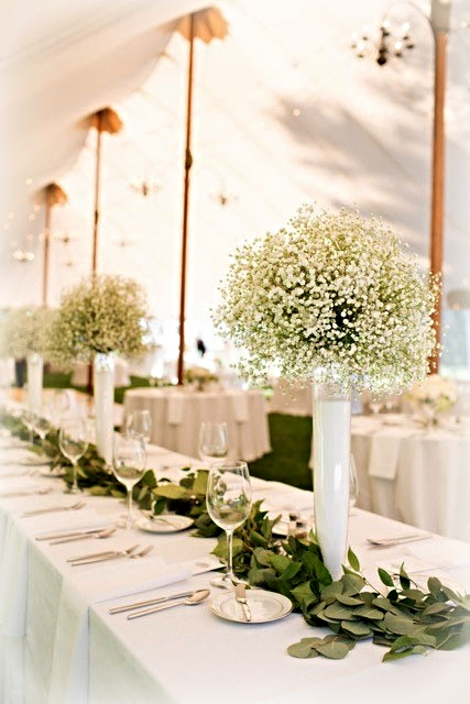 Elegant Reception Centerpieces
