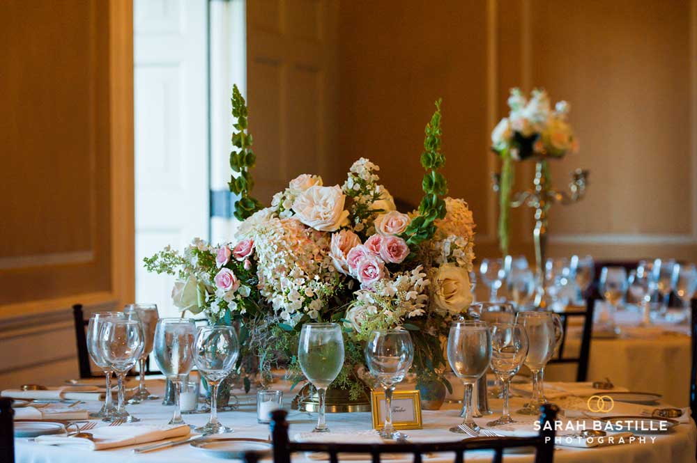 Beautiful Reception Floral Centerpieces